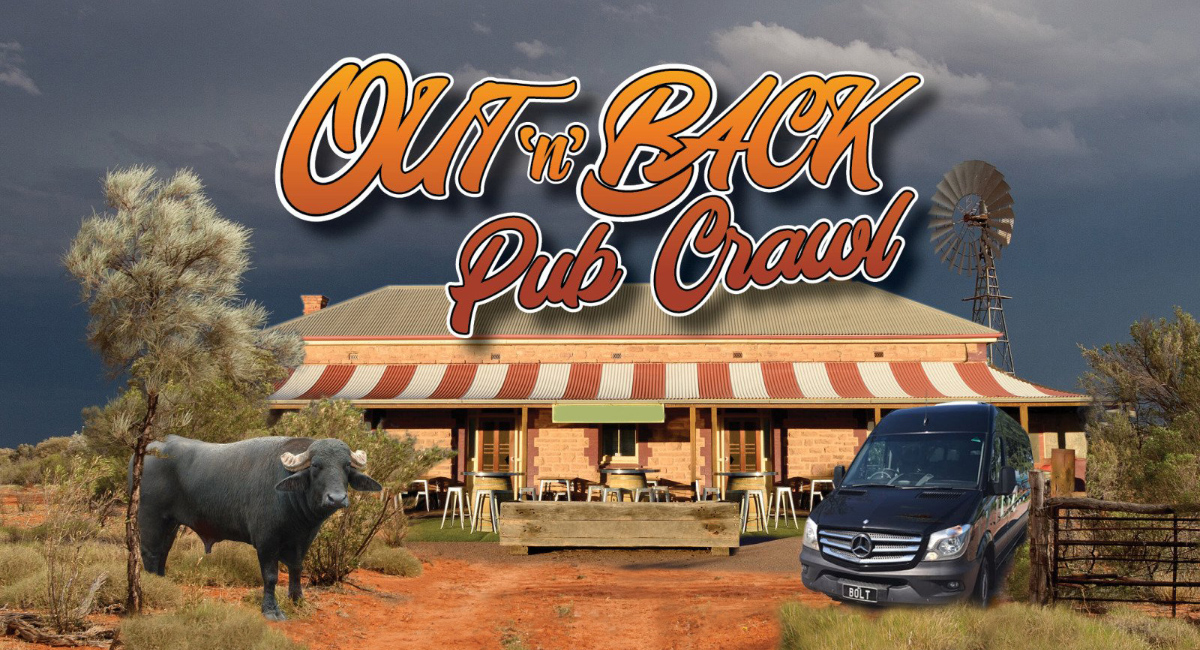 Out'n'Back Pub Crawl - iconic Darwin and Top End pubs